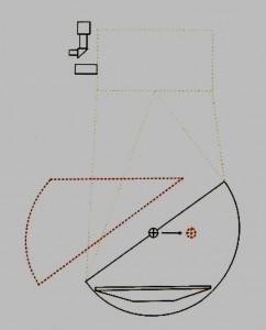 Hemisphere cutaway balance small